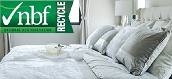 NBF ANNOUNCES POLICY ON MATTRESS AND COMPONENTS REUSE  AND SETS 10 YEAR RECYCLING GOAL OF 75%