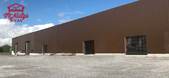 New Warehouse Extension for McNulty's Sofas