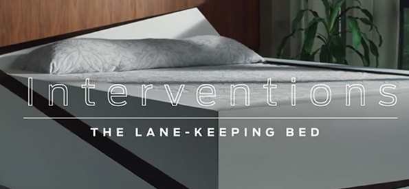 Auto-Maker Ford introduce Lane-Keeping Bed